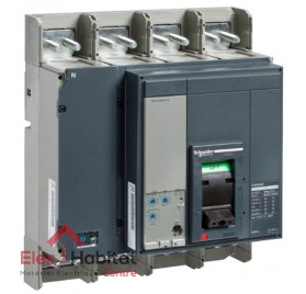 Disjoncteur compact NS1600H micrologic 2.0 1600A 4P4D Schneider 33485