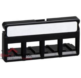 Bloc de brassage 4 ports à équiper LexCom Home Essential grade 1 Schneider VDIR312011