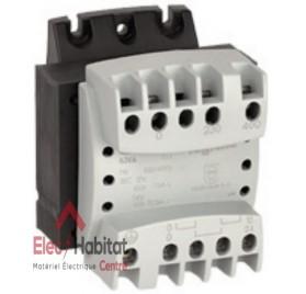 Transformateur de sécurité 230-400V/24V 40VA Legrand 042855