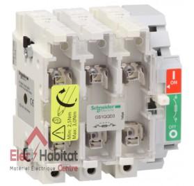 Interrupteur/Sectionneur à fusibles 400A 3P Schneider GS1QQD3