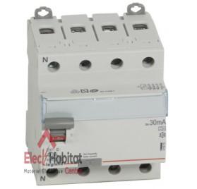 Inter différentiel 4P40A 30mA type A Vis/Vis de marque Legrand 411675