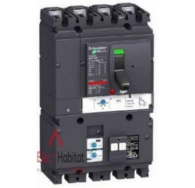 Disjoncteur vigicompact NSX100F vigi MH avec déclencheur TM100D 4P4D 100A Schneider LV429950