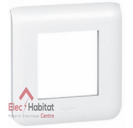 Lot de 20 plaques simple Mosaic blanc Legrand 078802