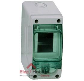 Tableau coffret électrique 3 modules étanche IP65 Schneider 13956