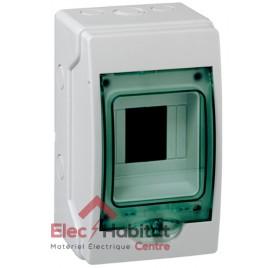 Tableau coffret électrique 4 modules étanche IP65 Schneider 13957