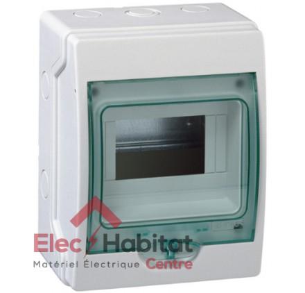 Tableau coffret électrique 6 modules étanche IP65 Schneider 13958
