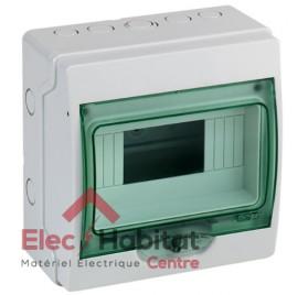 Tableau coffret électrique 8 modules étanche IP65 Schneider 13959