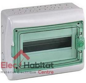 Tableau coffret électrique 12 modules compacte étanche IP65 Schneider 13960