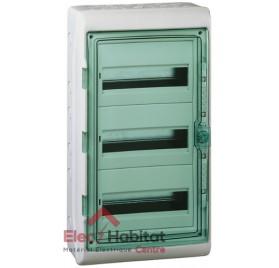 Tableau coffret électrique 3 rangées 54 modules étanche IP65 Schneider 13967