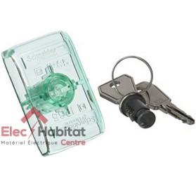 Serrure à clef Eurolocks N°850 pour coffret kaedra Schneider 13948