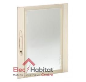 Porte transparente pour coffret Prisma Plus Pack 160 4 rangées Schneider 08094