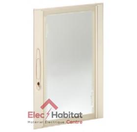 Porte transparente pour coffret Prisma Plus Pack 160 5 rangées Schneider 08095