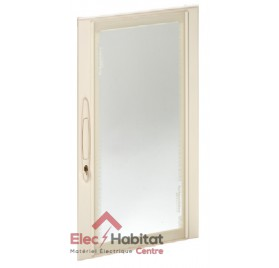 Porte transparente pour coffret Prisma Plus Pack 160 6 rangées Schneider 08096