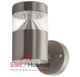 Applique murale extérieur design 3W LED acier inoxidable IP44 AGARA 18600