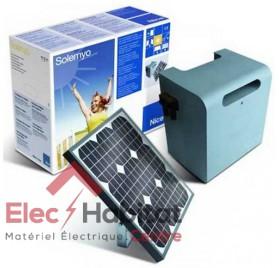 Kit d'alimentation solaire pour motorisation Nice Solemyo SYKCE