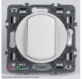 Interrupteur 10A Legrand Céliane blanc 67001+68001+80251