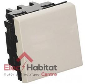 Permutateur 10A 2 modules Mosaic blanc Legrand 077021