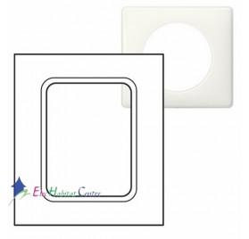"""Plaque pour écran tactile 3.5"""" yesterday blanche Legrand 068606"""