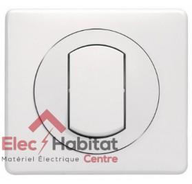 Interrupteur étanche 10A Legrand Céliane blanc complet 067001+067801+080251+069071