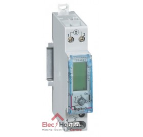 Interrupteur horaire journalier 1 module digital avec réserve de marche Legrand 003705