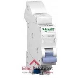 Disjoncteur Ph+N 10A automatique D'clic XE embrochable Schneider 16725