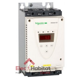 Démarreur progressif électronique 32A Altistart ATS22 400v triphasé Schneider ATS22D32Q