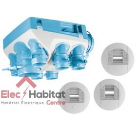 Ventilation mécanique hygrostat KIT OZEO ST 2 KHB en kit complet Unelvent 604711