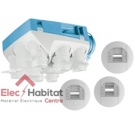 Ventilation mécanique hygrostat KIT OZEO Ecowatt KHB en kit complet Unelvent 604611
