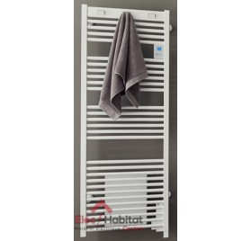 Radiateur sèche serviette DORIS DIGITAL VENTILO blanc 1500w Atlantic 850141