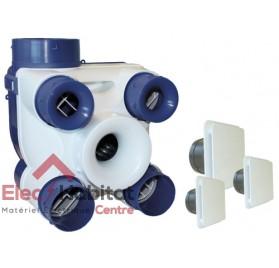 Ventilation mécanique contrôlée KIT AUTO DECO 2K en kit complet S&P France 604141