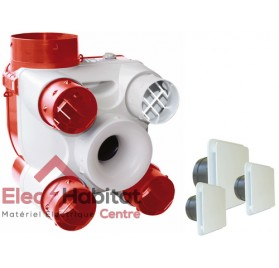 Ventilation mécanique contrôlée KIT DECO DHU en kit complet S&P France 603116