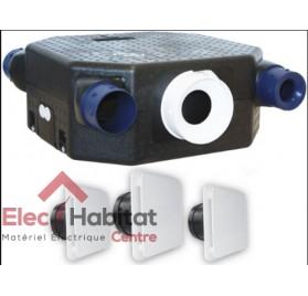 Ventilation mécanique contrôlée KIT AUTO DECO 2 Flat en kit complet S&P France 604121