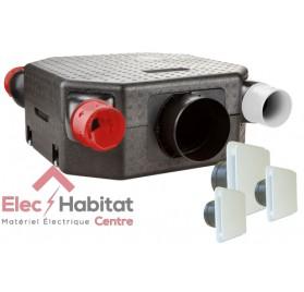 Ventilation mécanique contrôlée KIT DECO DHU Flat en kit complet S&P France 603126