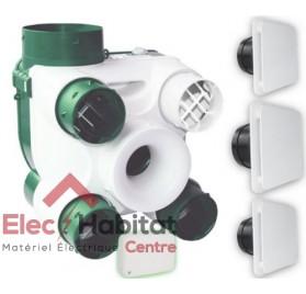 Ventilation mécanique contrôlée KIT AUTO DECO Serenite en kit complet S&P France 604142