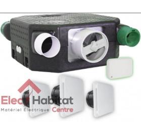 Ventilation mécanique contrôlée KIT AUTO DECO Serenite Flat en kit complet S&P France 604143