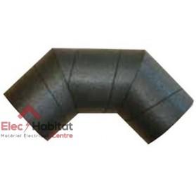 Coude 90° rigide polyéthylène isolée CDR ISO 125/90 S&P France 810102