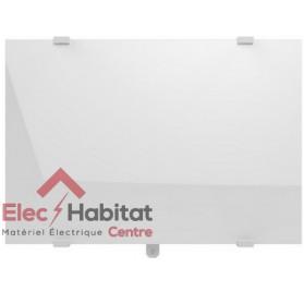 Radiateur inertie verre CAMPAVER SELECT 3.0 lys blanc horizontal 1000w Campa CMSD10HBCCB