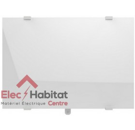 Radiateur inertie verre CAMPAVER SELECT 3.0 lys blanc horizontal 2000w Campa CMSD20HBCCB