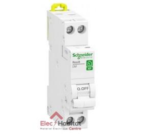 Disjoncteur unipolaire+neutre Rési9 XP 10A Schneider R9PFC610