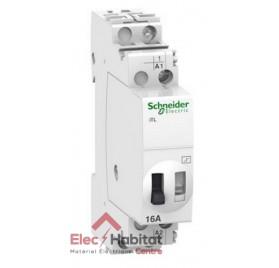Télérupteur unipolaire 1 NO 16A Acti9 iTL Schneider A9C30811
