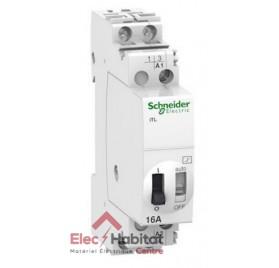 Télérupteur bipolaire 2 NO 16A Acti9 iTL Schneider A9C30812