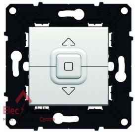 Interrupteur volet roulant blanc Espace Evolution Arnould 64020