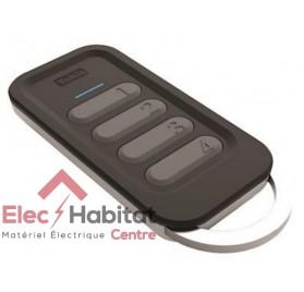 Télécommande DESIGN 4 canaux power TLC4TP Yokis 5454432