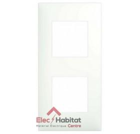 Plaque double blanche Arnould Espace Evolution 64402