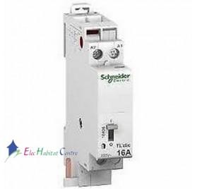 Télérupteur bipolaire TLCLIC 230V 16A Schneider 16407