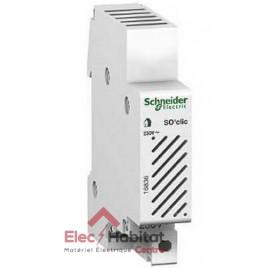 Sonnerie modulaire so'clic 230v 80dB Schneider 16836