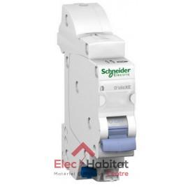 Disjoncteur Ph+N 2A automatique D'clic XE embrochable Schneider 16724