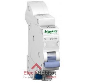 Disjoncteur Ph+N 32A automatique D'clic XE embrochable Schneider 16729