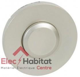 Manette simple interrupteur, va et vient ou poussoir type push Céliane titane Legrand 068315