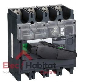 Interrupteur-sectionneur tétrapolaire 4P630A INV630 Schneider 31175